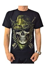 Biker T-Shirt Soldat (Glow in the Dark)