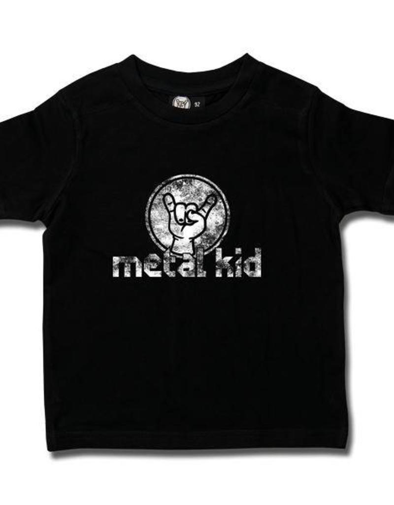 metal kid (Vintage) - Kids T-Shirt