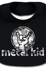 """Metal Kids Lätzchen """"metal kid"""" - Für unersättliche Nachwuchsrocker!"""