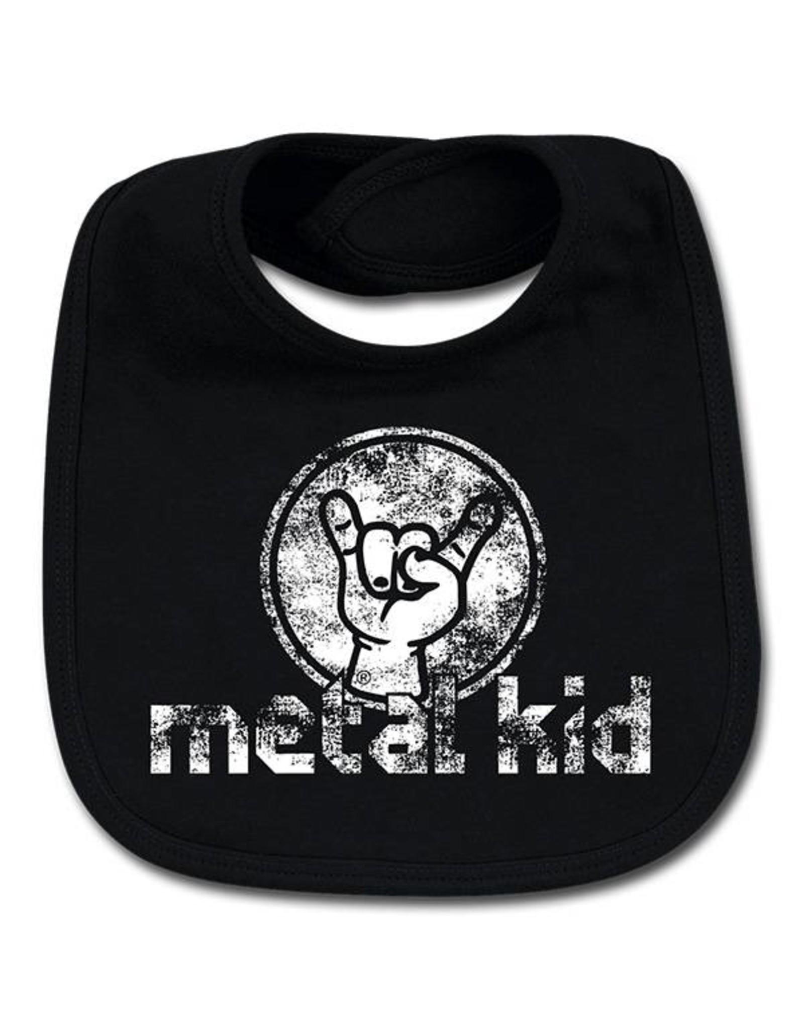 """Metal Kid Lätzchen """"metal kid"""" - Für unersättliche Nachwuchsrocker!"""