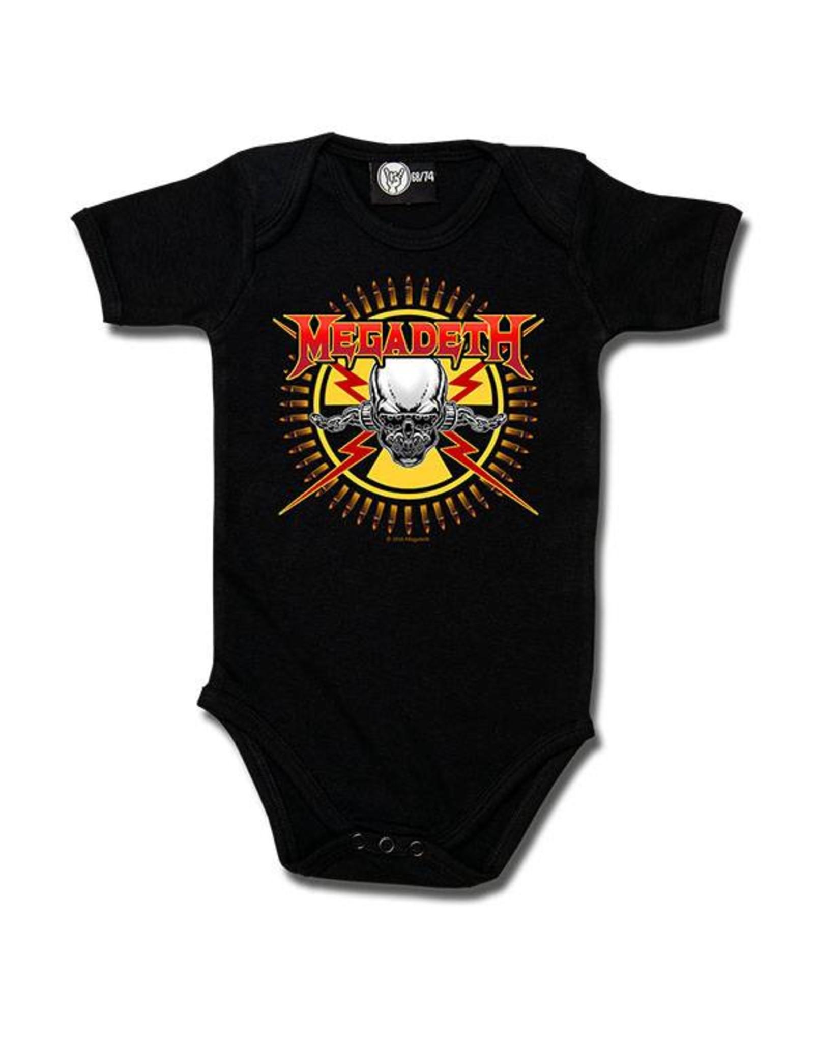 Megadeth (Skull & Bullets) - Baby Body