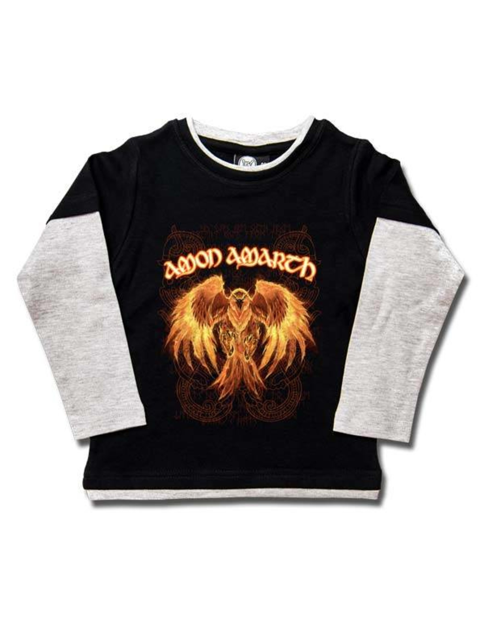 Amon Amarth (Burning Eagle) - Kids Skater Shirt