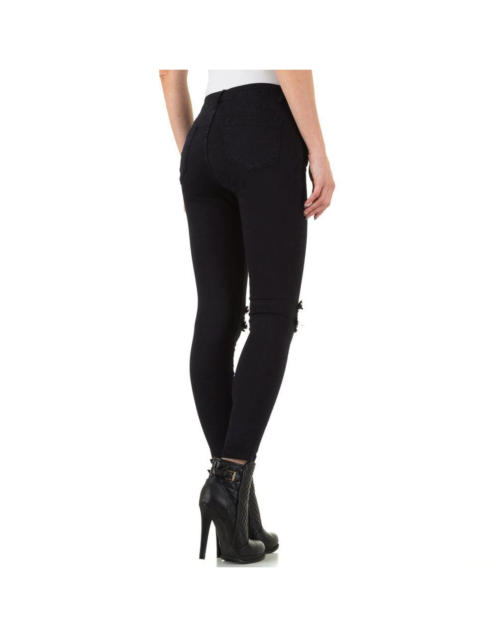 Damen Jeans von Laulia schwarz