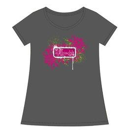 """Damen T-Shirt """"Aufbischlt"""""""