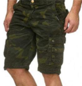 Herren Capri Hosen Army Green