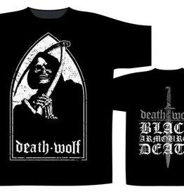 Death Wolf Black Armoured Death T-Shirt