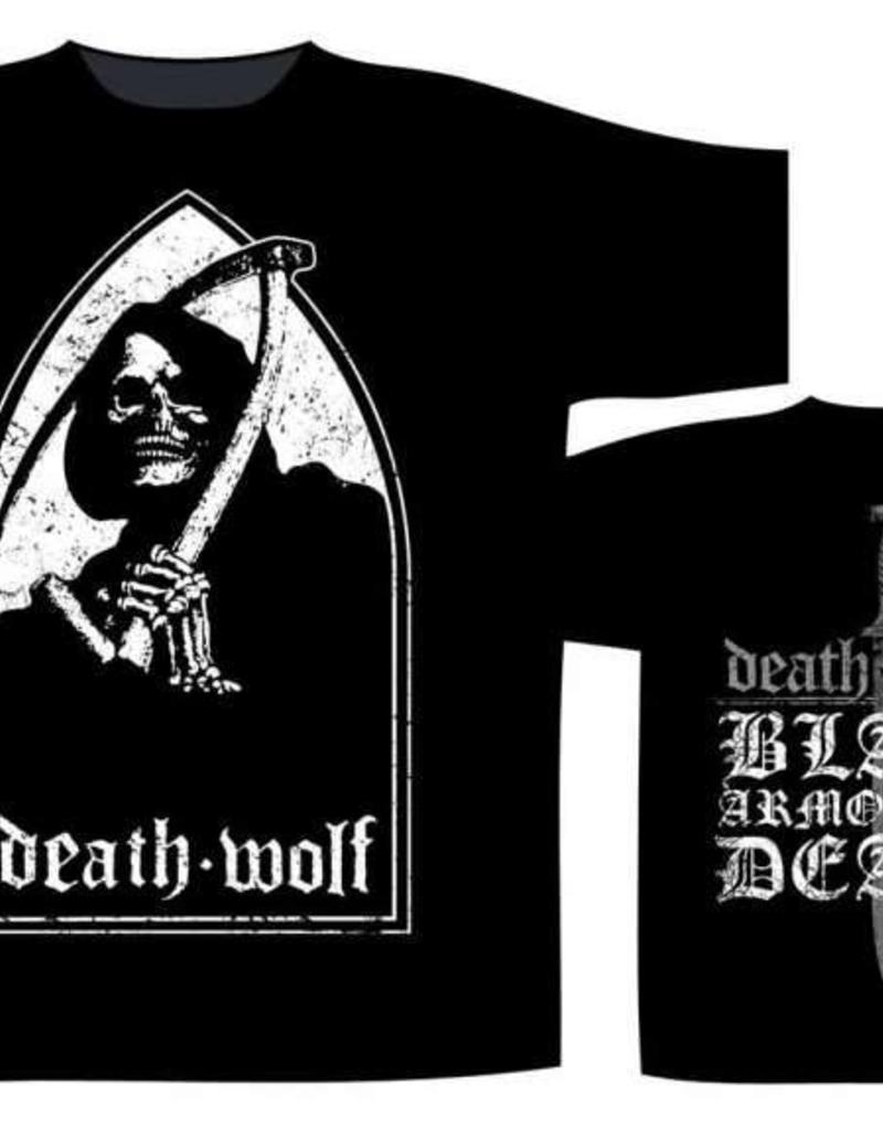 Death Wolf Black Armoured Death T-Shirt