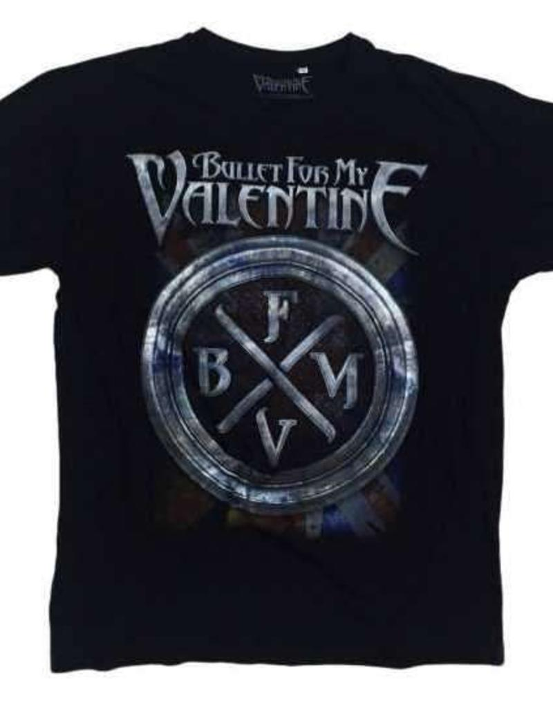 Bullet For My Valentine Crest Logo T-Shirt