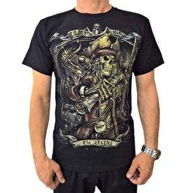 Biker T-Shirt Legendärer Piratenkönig