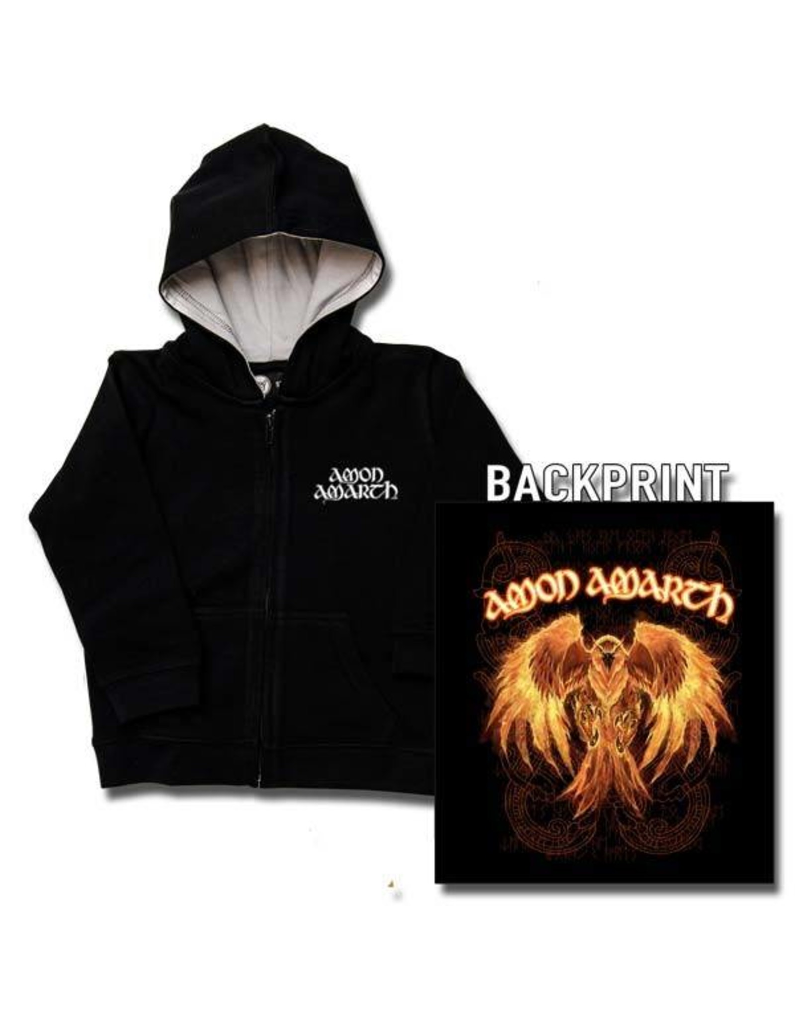Amon Amarth (Burning Eagle) - Kapuzenjacke