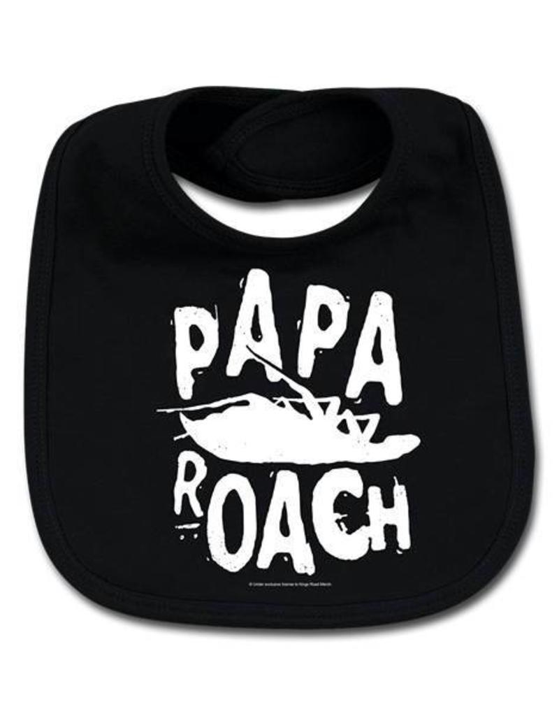 Lätzchen Papa Roach (Logo/Roach) - Für unersättliche Nachwuchsrocker!