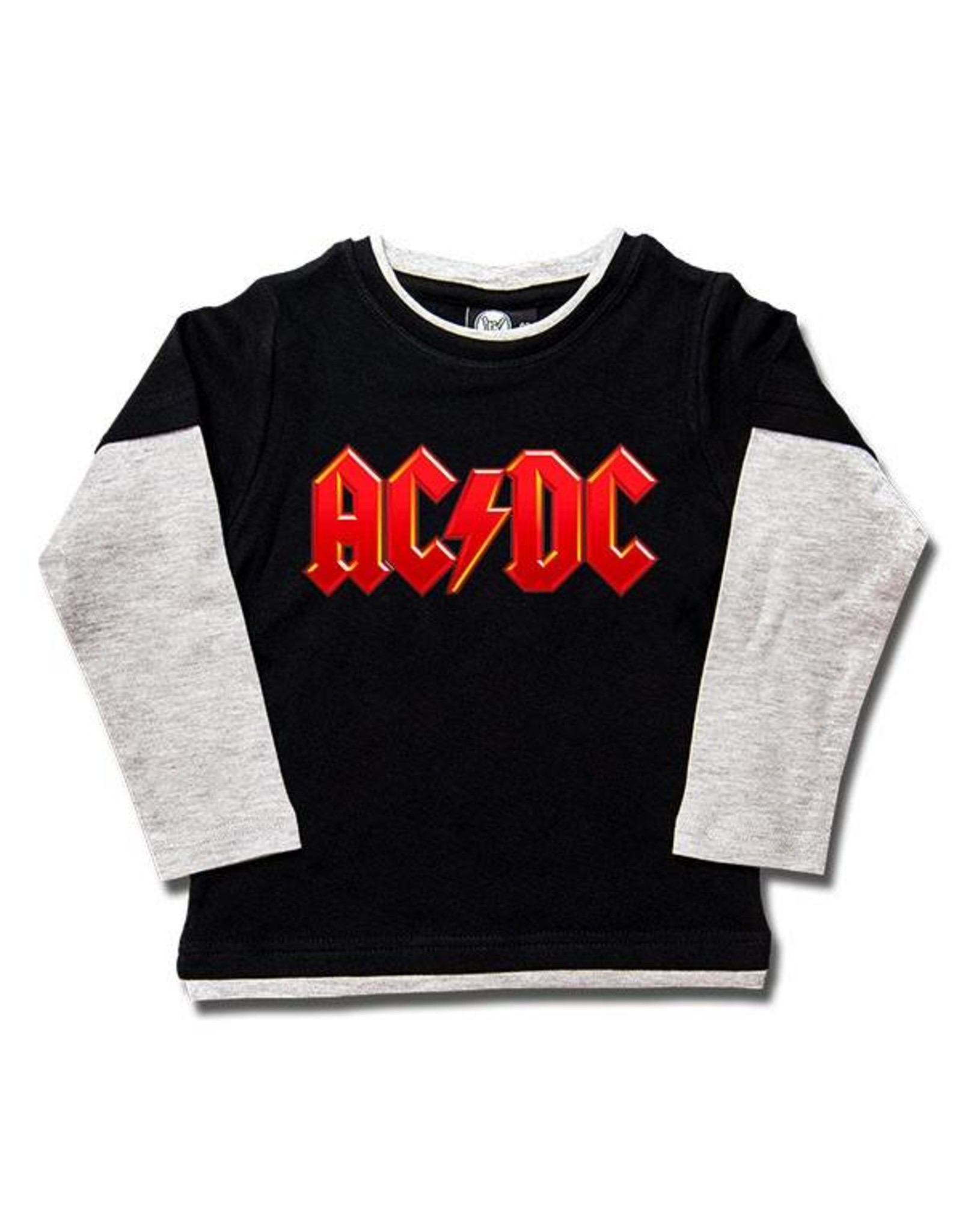 AC/DC (Logo, multi-color) Kids Skater Shirt
