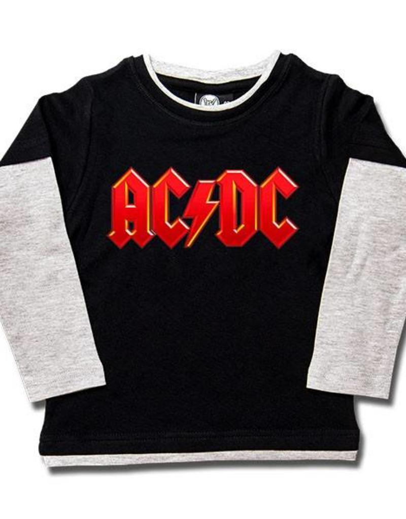 AC/DC (Logo, multi-color) Kids Skater Shirt