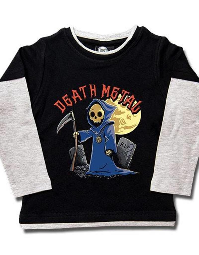 Death Metal - Kids Skater Shirt