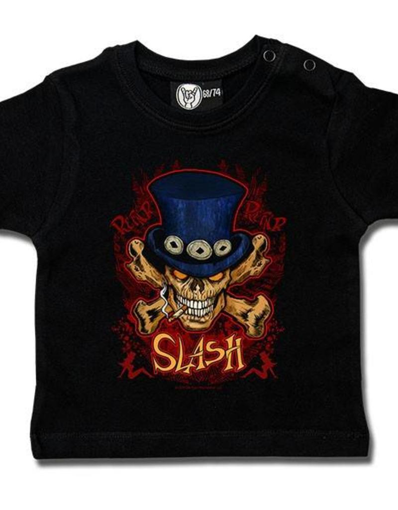 Slash (Cylinder Skull) - Baby T-Shirt