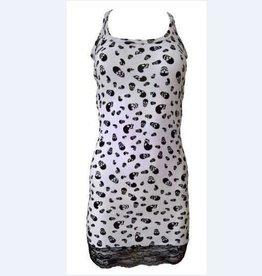 Trägerkleid slimfit weiß