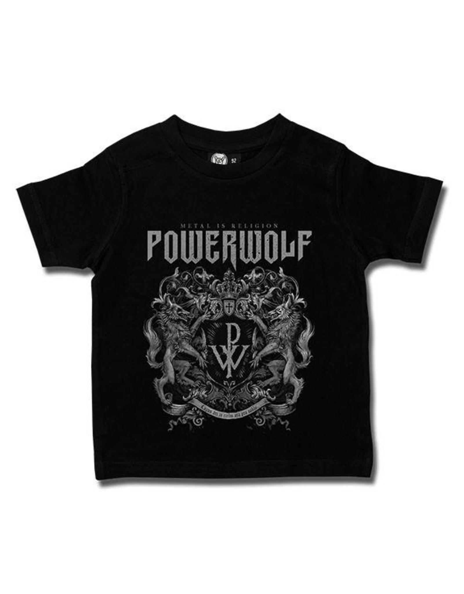Powerwolf (Crest) - Kids T-Shirt