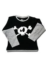 Skull Bones - Kids Skater Shirt