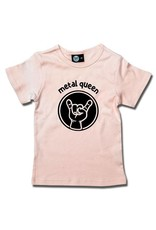 metal queen - Girly Shirt rosa