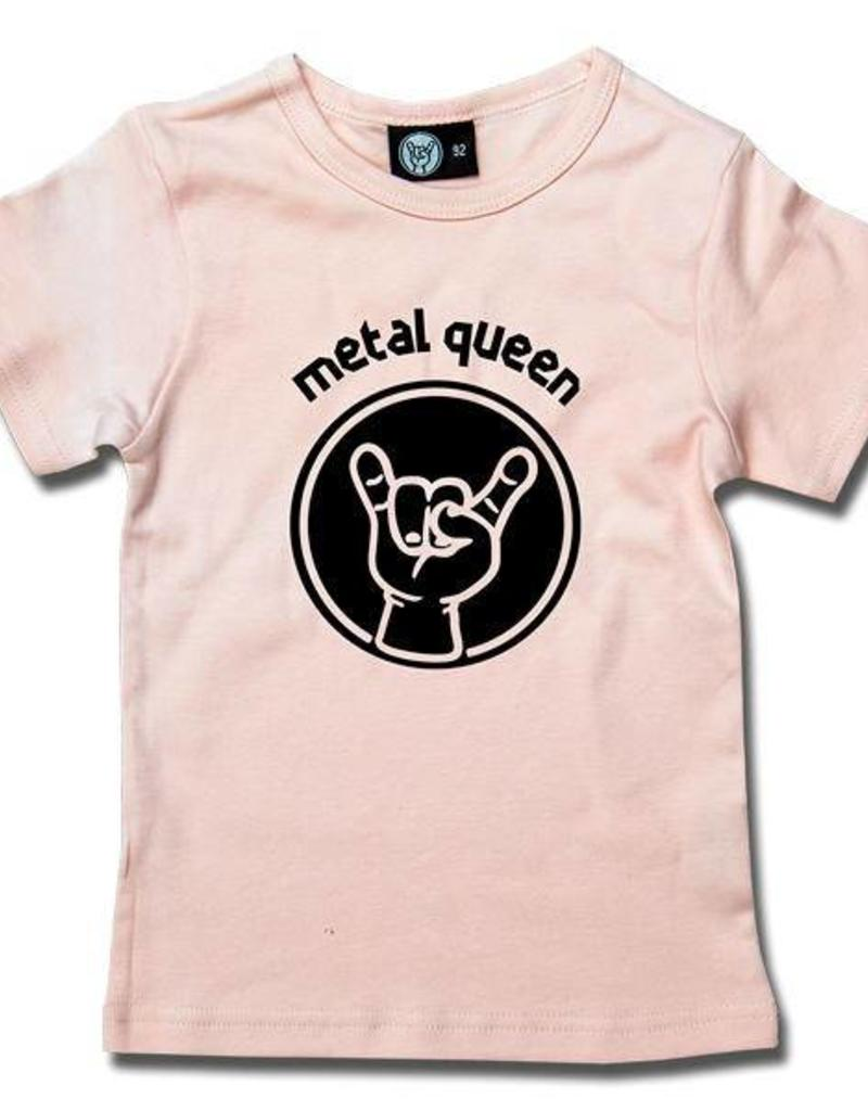 metal queen - Girly Shirt rosa