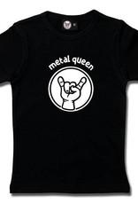 metal queen - Girly Shirt schwarz