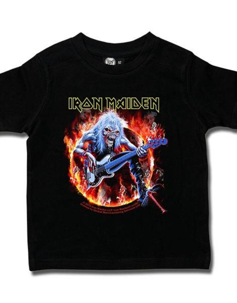 Iron Maiden (Fear Live Flame) - Kids T-Shirt