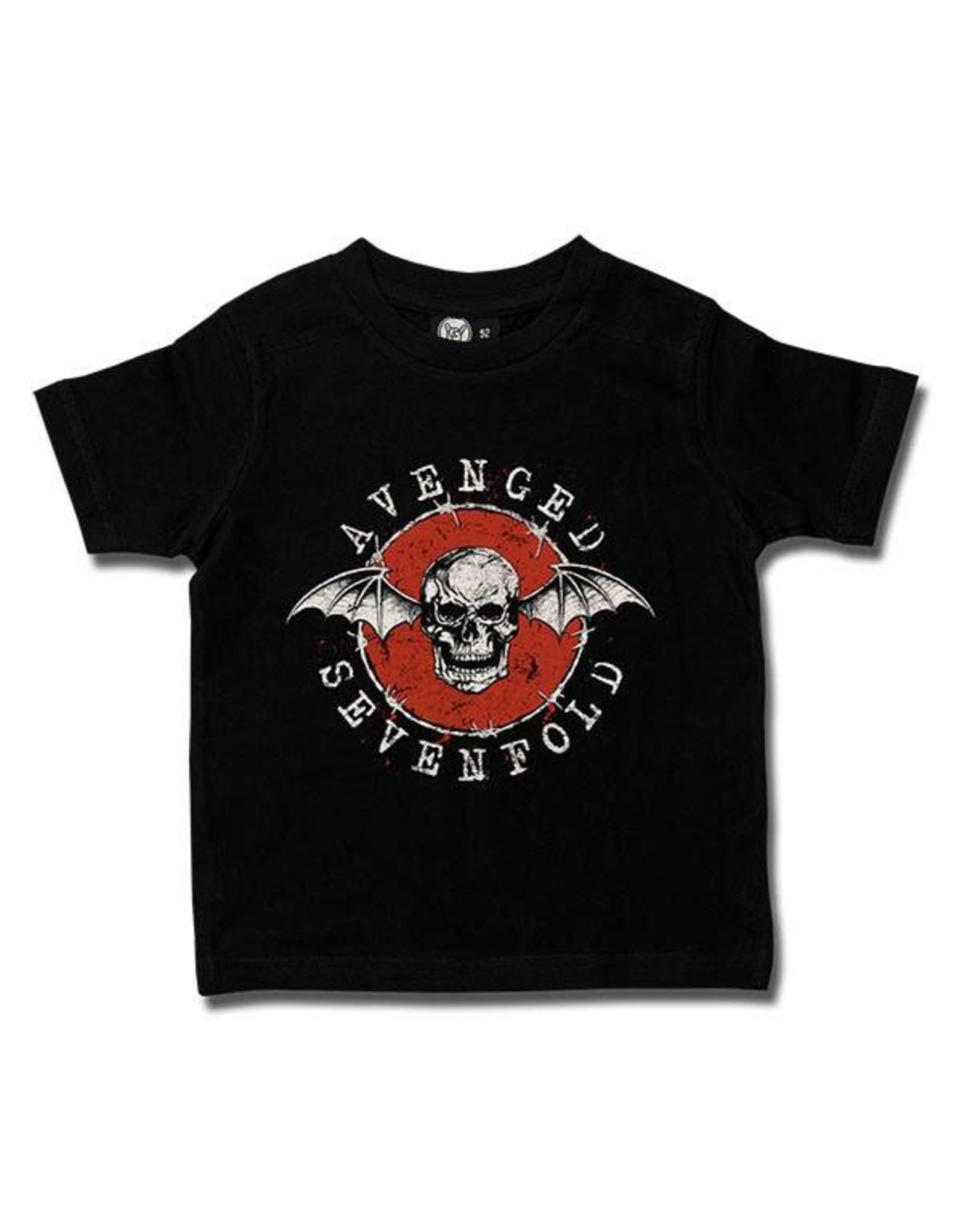 Avenged Sevenfold (New Deathbat) Kids T-Shirt