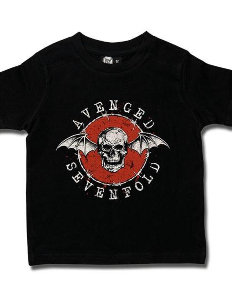 Avenged Sevenfold (New Deathbat) Kids T-Shirt