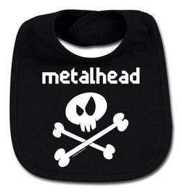 Metal Kid metalhead - Lätzchen - Für unersättliche Nachwuchsrocker!