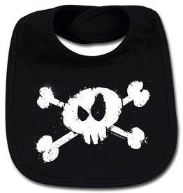 splashed skull - Lätzchen - Baby Lätzchen