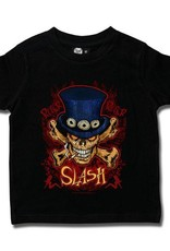 Slash (Cylinder Skull) Kids T-Shirt