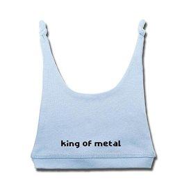 King of Metal - Baby Mützchen hellblau