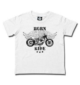 born to ride - Kids T-Shirt