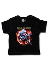 Iron Maiden Iron Maiden (Fear Live Flame) - Baby T-Shirt
