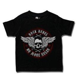 Rock Rebel (New Circle) - Kids T-Shirt
