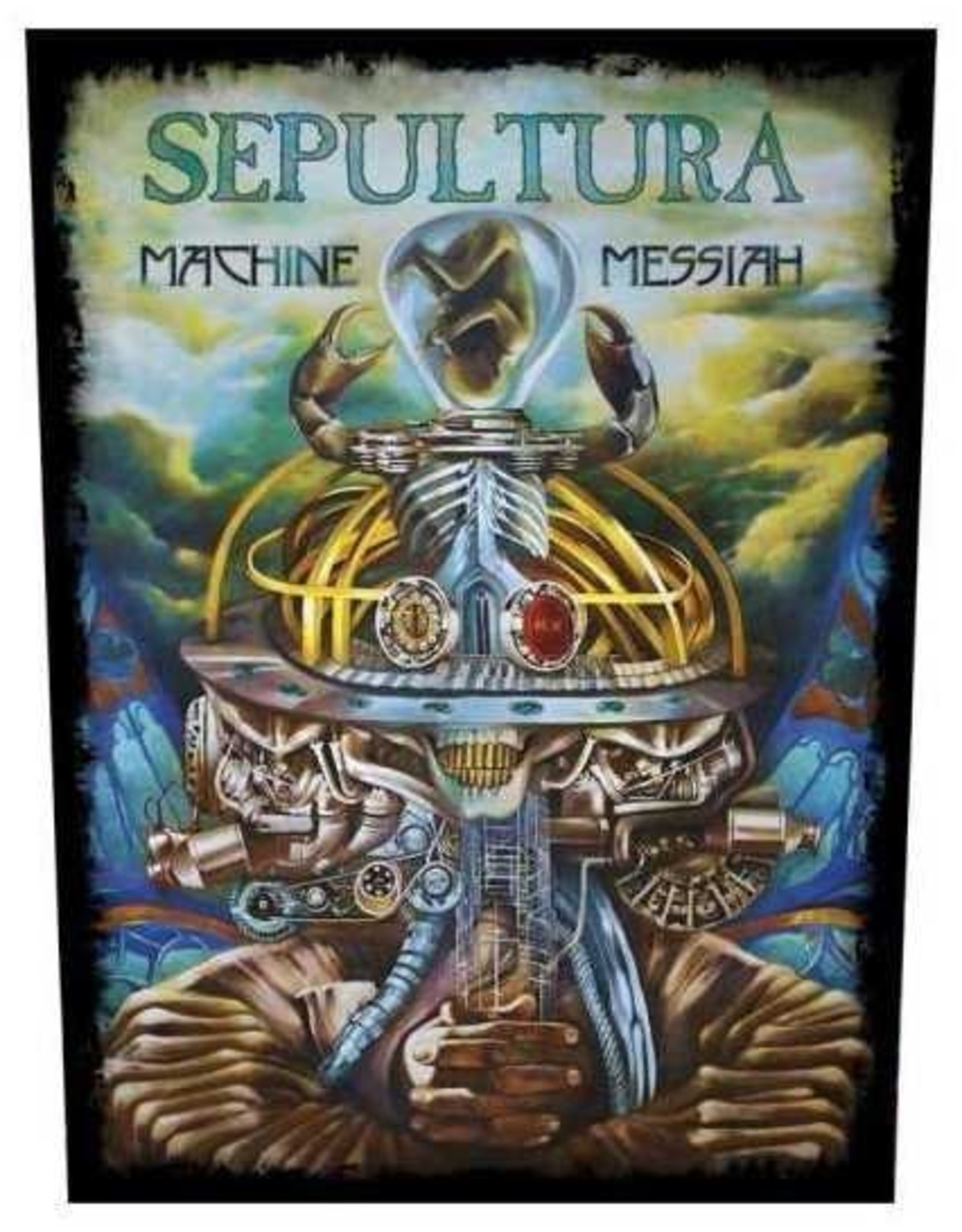 Rückenaufnäher  Sepultura Machine Messiah