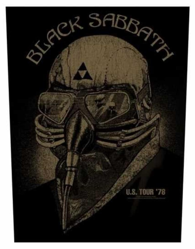 Rückenaufnäher  Black Sabbath US Tour '78