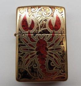 Zippo Feuerzeug Roter Skorpion