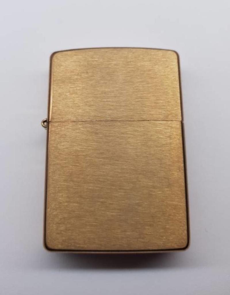 Zippo Feuerzeug Brushed Brass