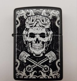 Zippo Feuerzeug Mechanic Skull