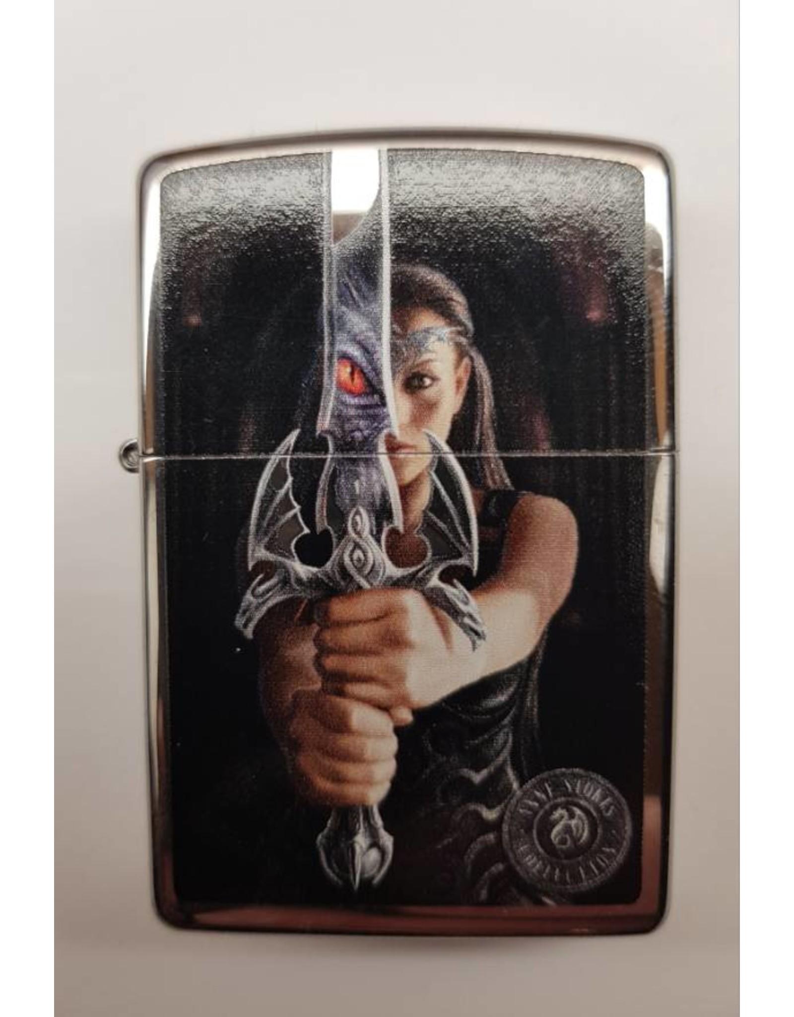 Zippo Feuerzeug Anne Stokes Schwert