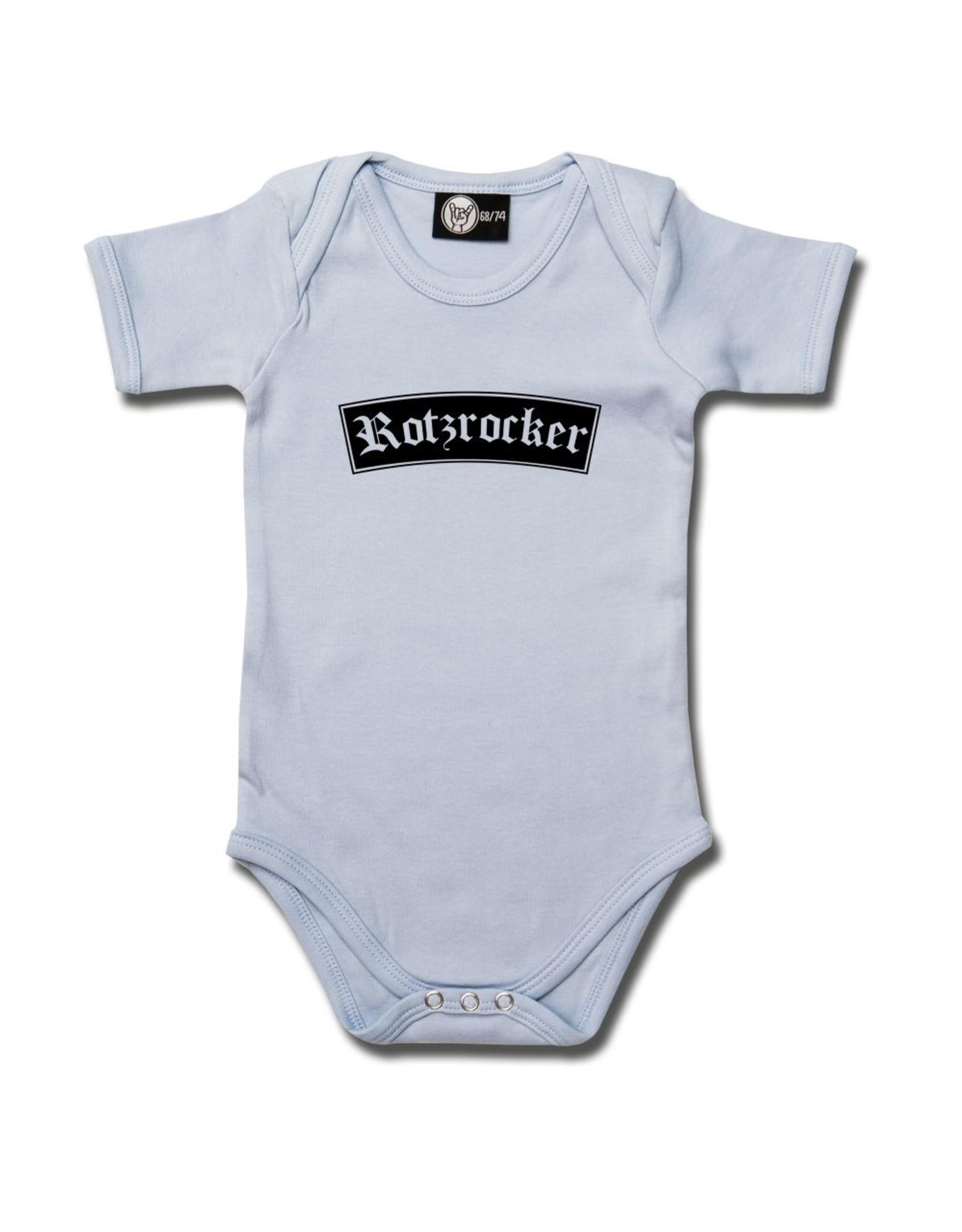 Rotzrocker - Baby Body hellblau