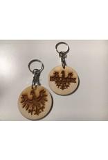 Schlüsselanhänger INNROCK reloaded  aus Holz