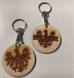 Holz-Schlüsselanhänger INNROCK reloaded