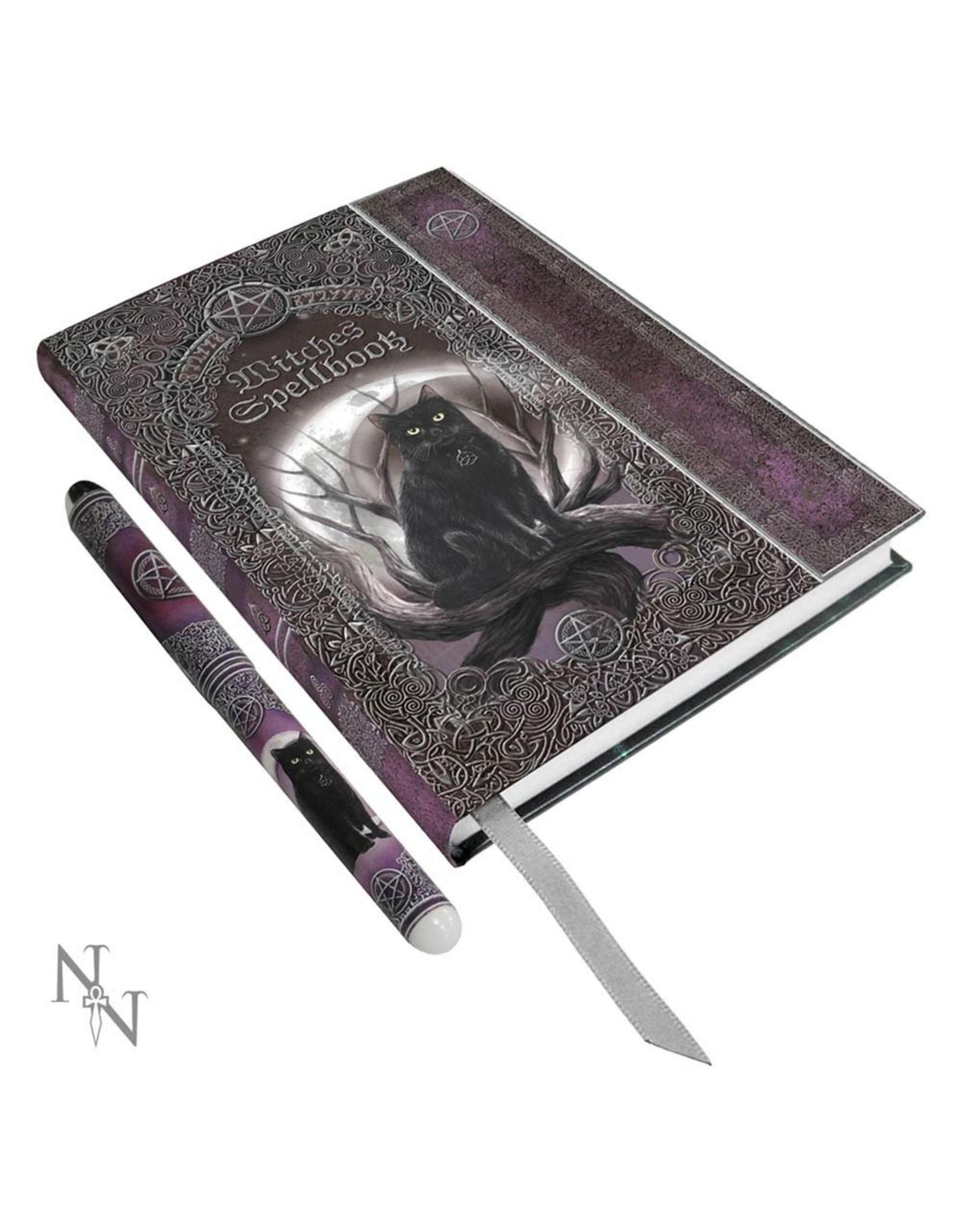 Hardcover Notizbuch mit Stift - Witches Spellbook