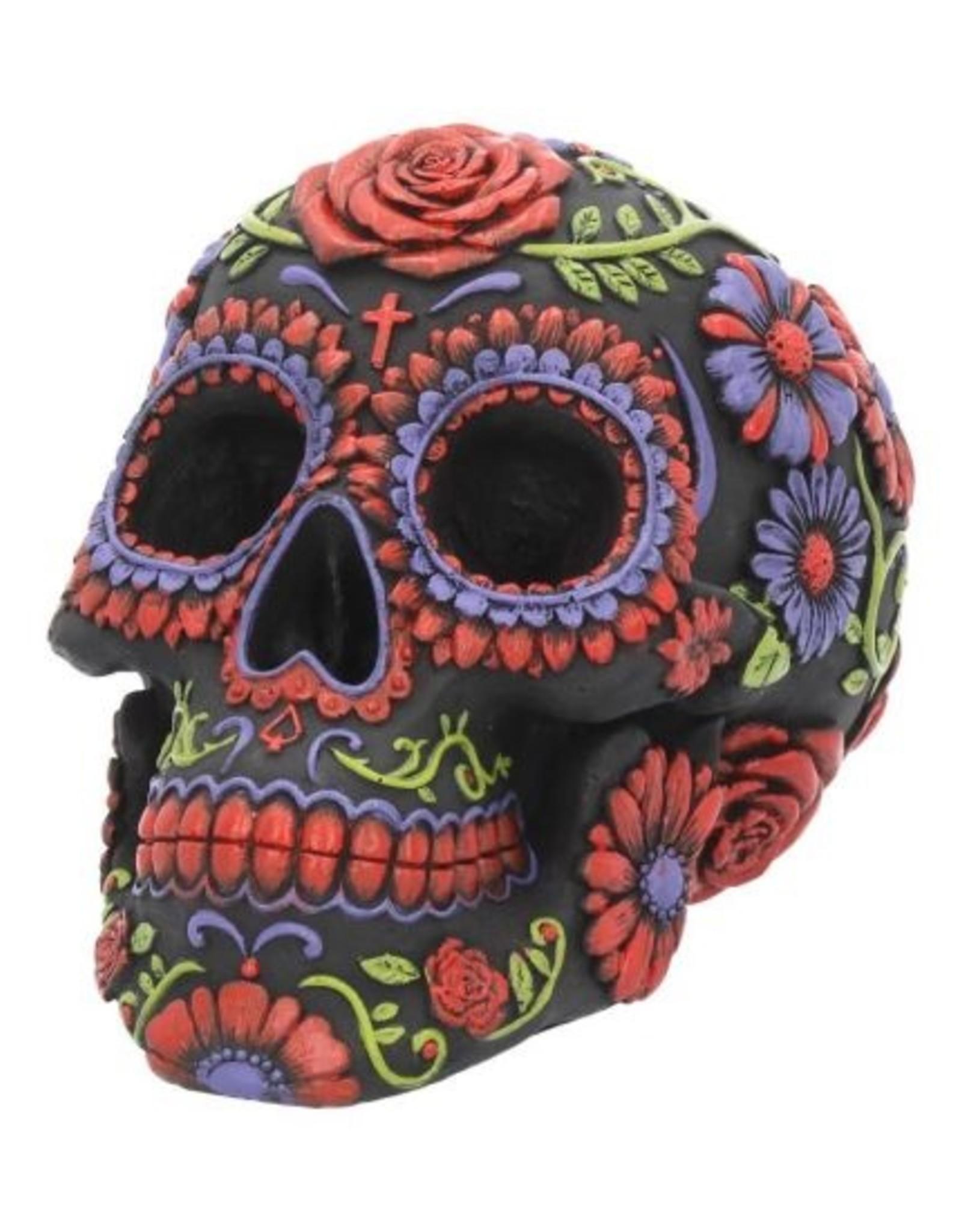 Totenkopf Sugar Blooms Ornament 18cm