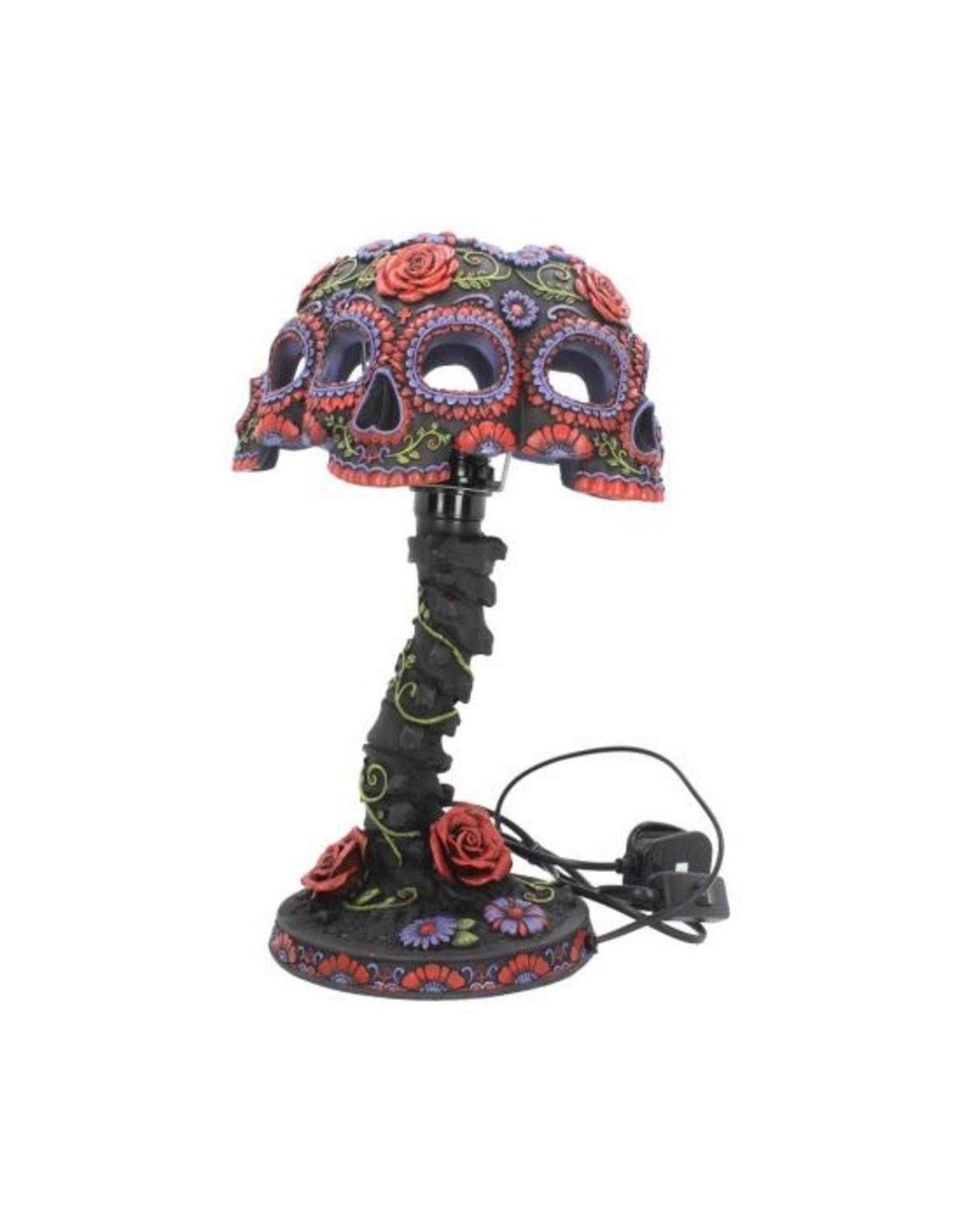 Totenkopf Lampe Night Blooms