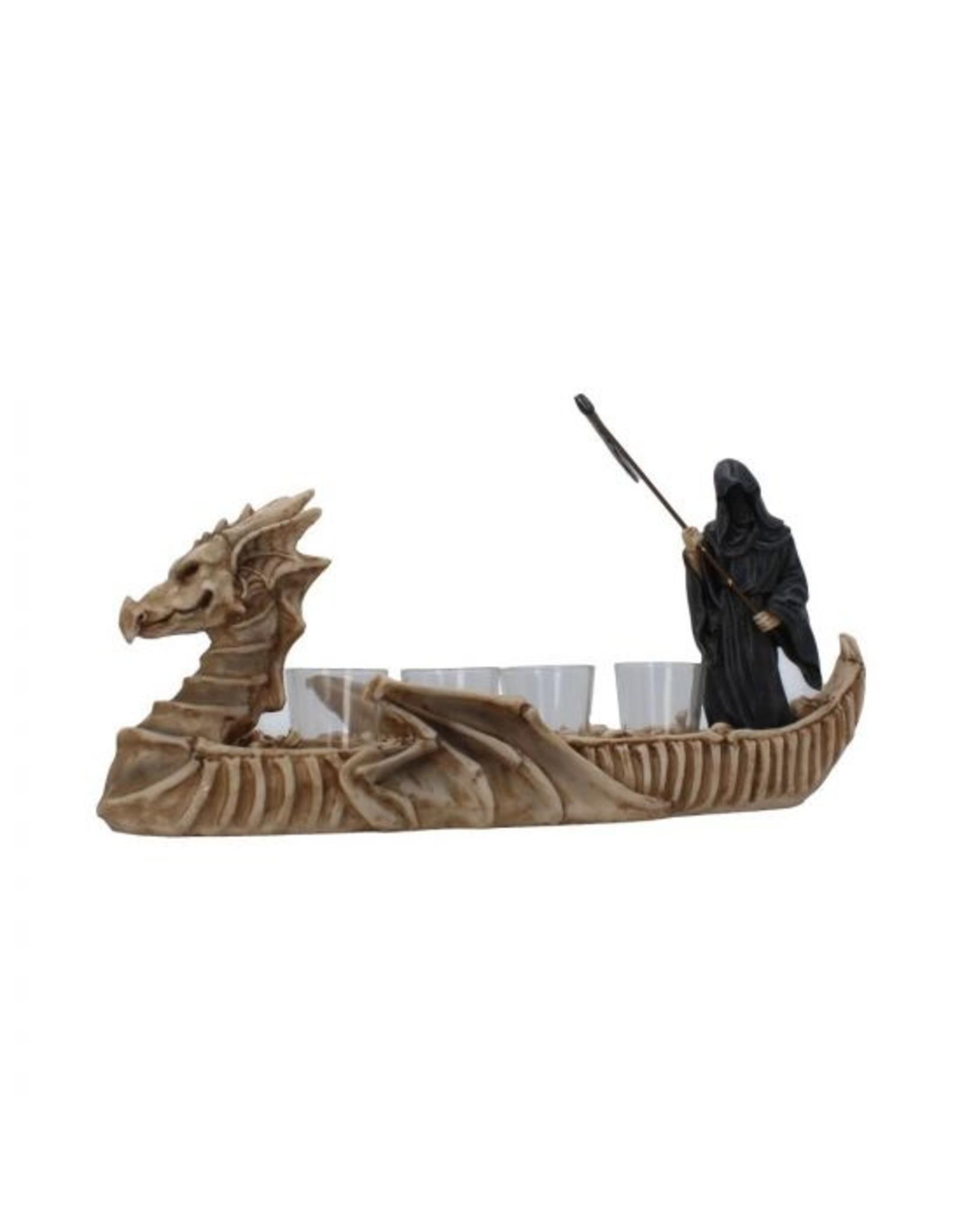 Reaper Figur als Schnapsglas-Halter