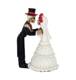 Skelett Brautpaar stehend