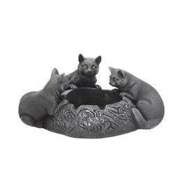 Schwarze Katzen Aschenbecher